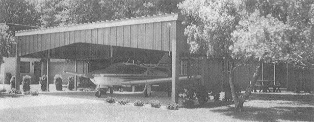 Where on a typical American residential street cars would be parked in front of private residences, the prototype fly-in community Spruce Creek near Datona Beach, Florida (initiated in the 1960's and 1970's with help of Conway) features readied Cessnas.